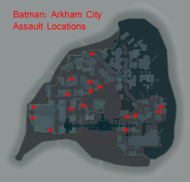 Batman Arkham City Achievement Guide Road Map Xboxachievements