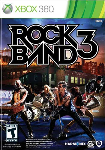 rock band instruction manual xbox 360