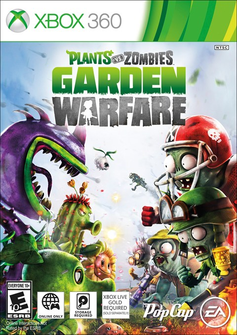 Game Added Plants Vs Zombies Garden Warfare Xbox One Xbox 360 News At
