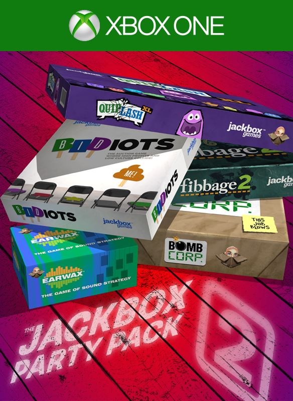 Game Added: The Jackbox Party Pack 2 - Xbox One, Xbox 360 ...