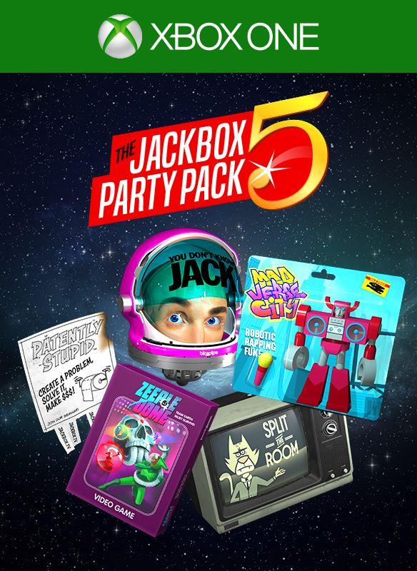 The Jackbox Party Pack 5 Coming to Xbox One in Mid-October ...