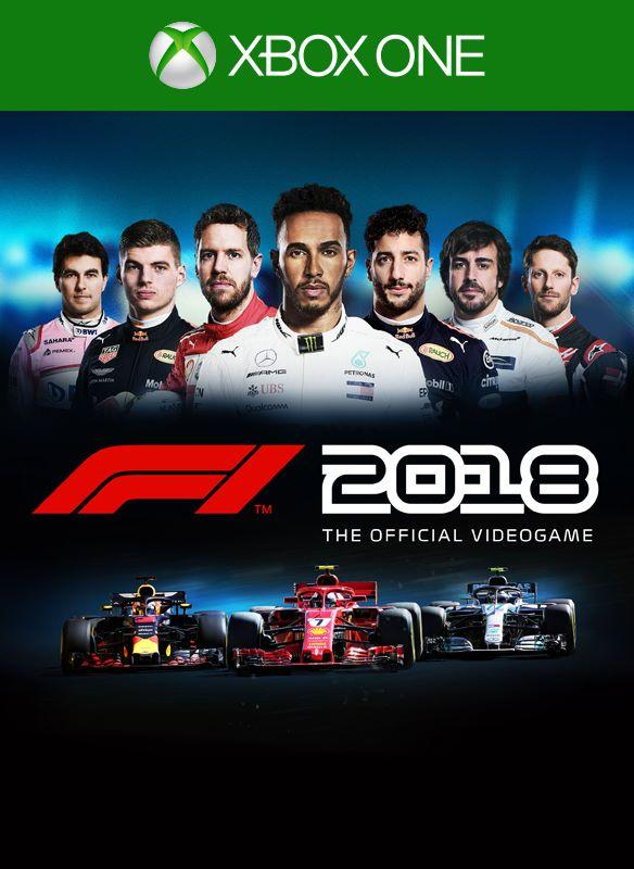 f1 2018 announced with august release date xbox one xbox 360 news at. Black Bedroom Furniture Sets. Home Design Ideas