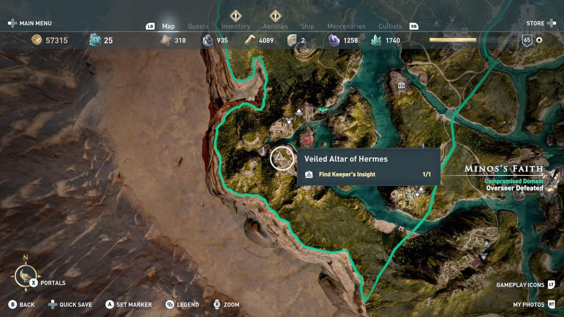 Assassin S Creed Odyssey Achievement Guide Road Map Xboxachievements Com