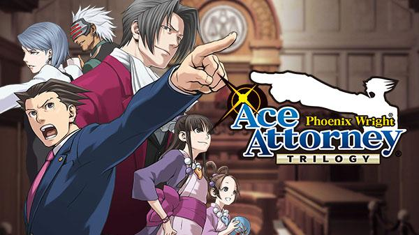 Capcom is bringing the Ace Attorney: Phoenix Wright Trilogy to Switch
