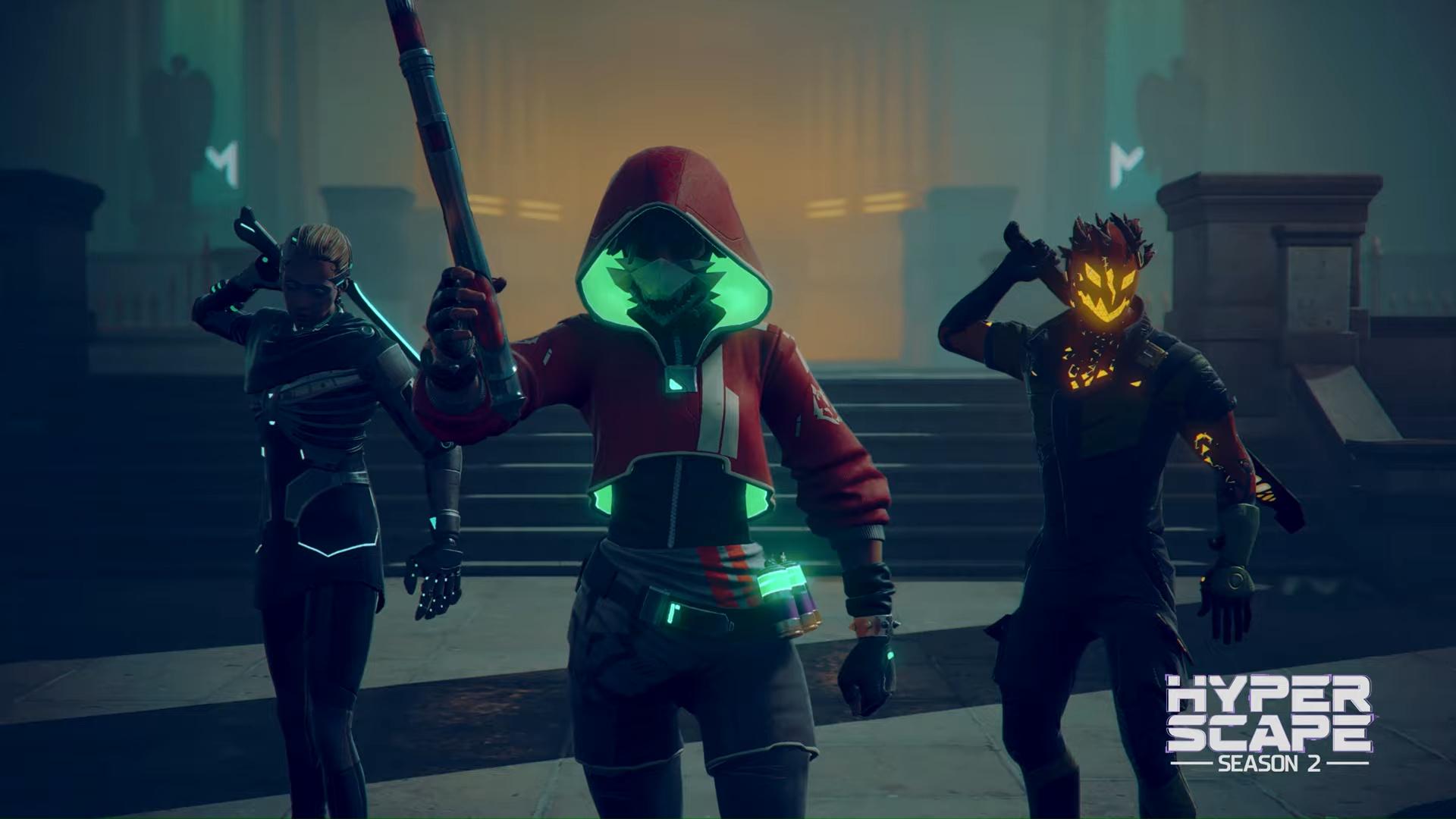 Hyper Scape's Halloween Event Kicks Off This Week - Xbox One, Xbox 360 News  At XboxAchievements.com