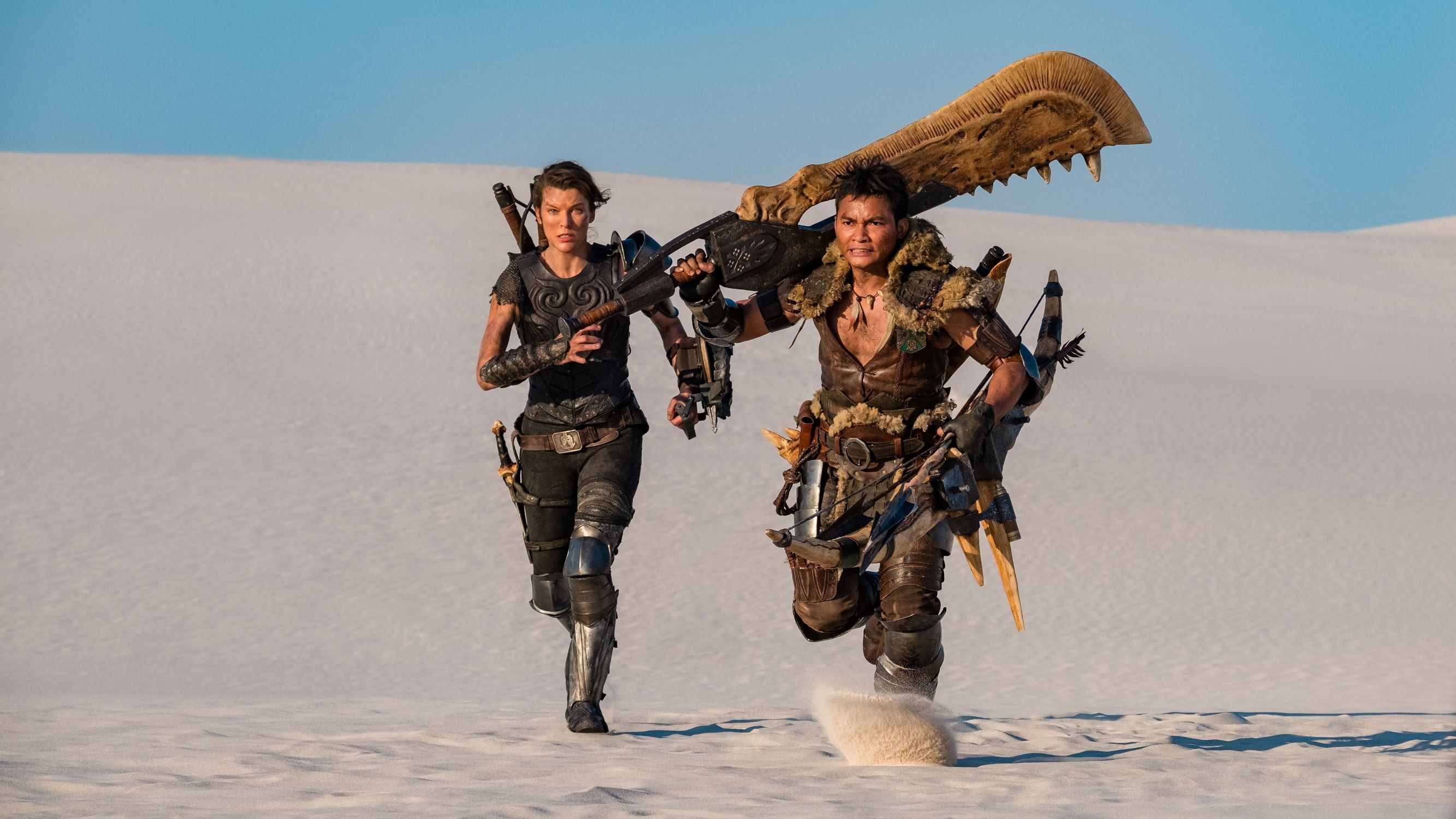 Monster Hunter Movie First Trailer Shows Milla Jovovich Fighting Giant Beasts