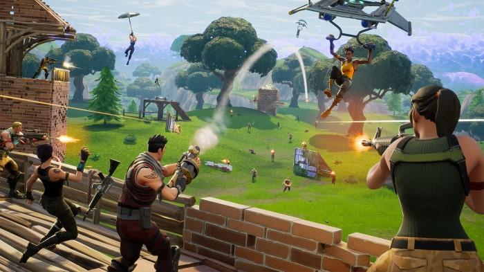 Fortnite Battle Royale's new gametype is an ambitious 50v50 mode