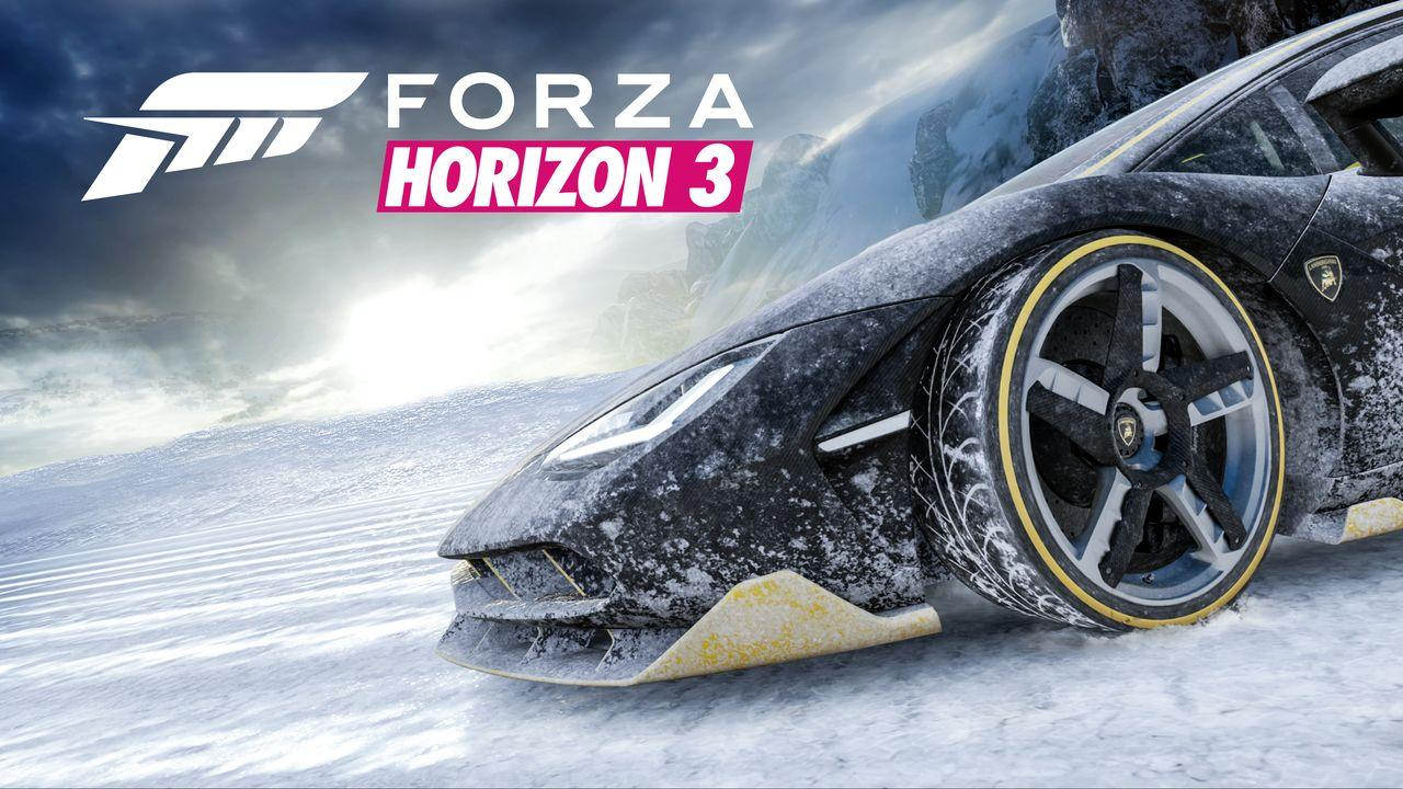 forza horizon 3 39 s blizzard mountain dlc teasered with festive new ad xbox one xbox 360 news. Black Bedroom Furniture Sets. Home Design Ideas