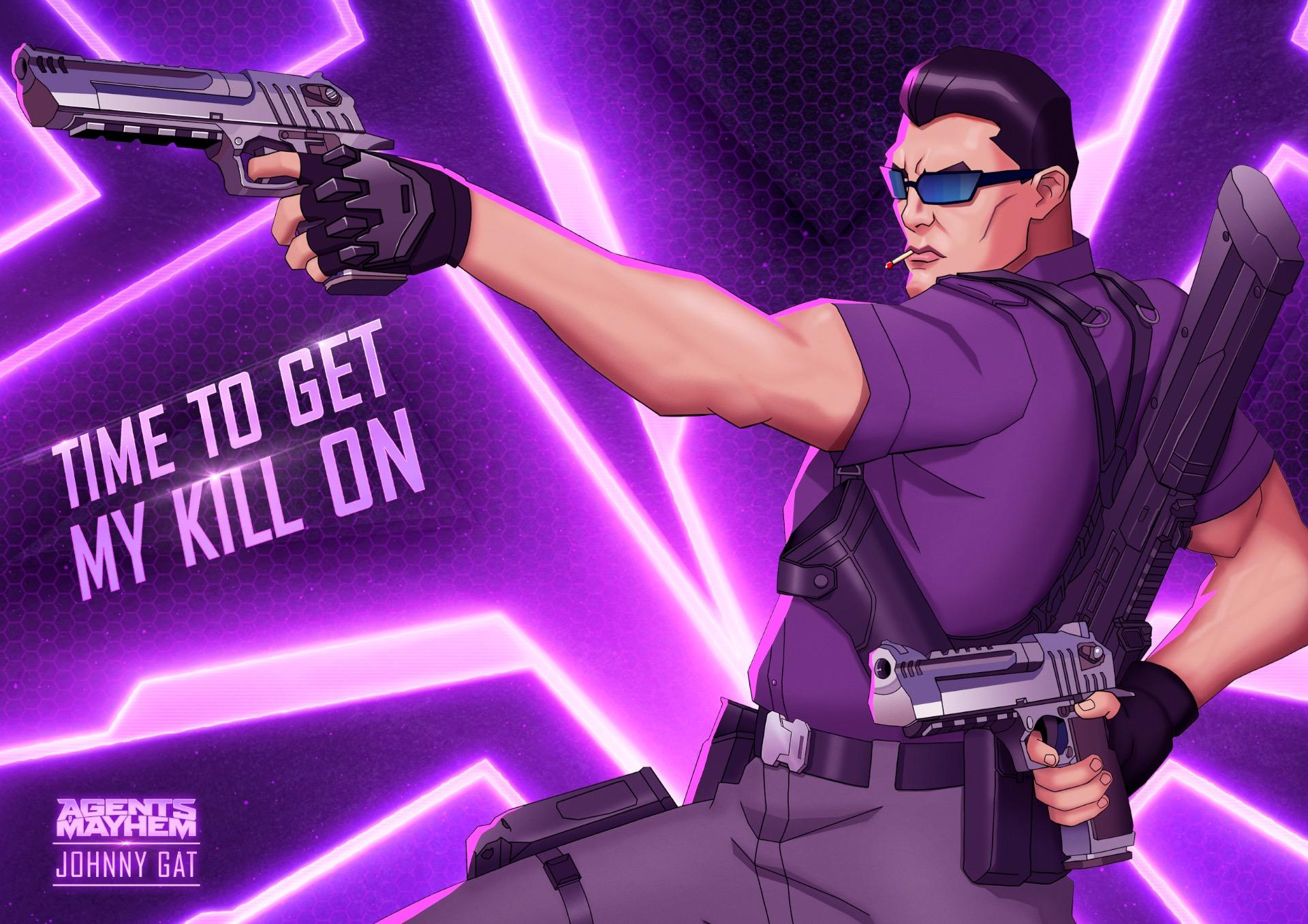 Saints Row's Johnny Gat Joins Agents of Mayhem