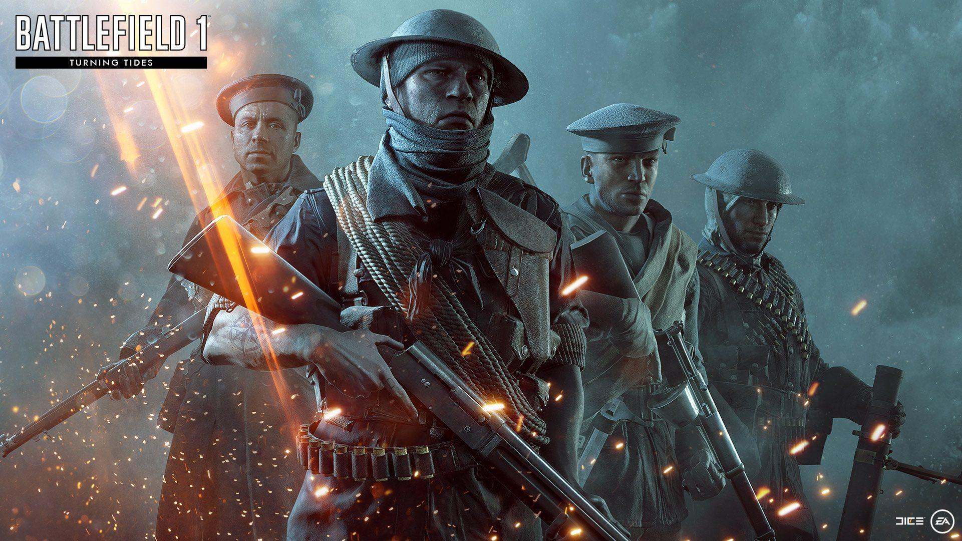 New Battlefield 1 Content Incoming; Free Trial Commences