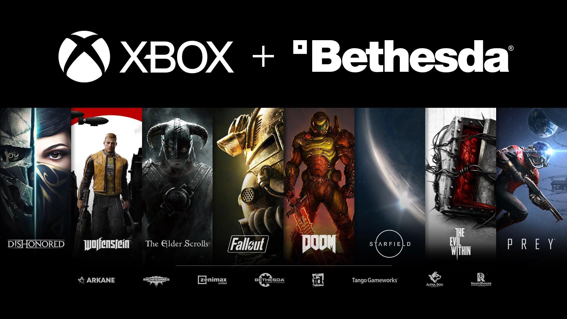 Xbox Buys Bethesda and Parent Company ZeniMax Media