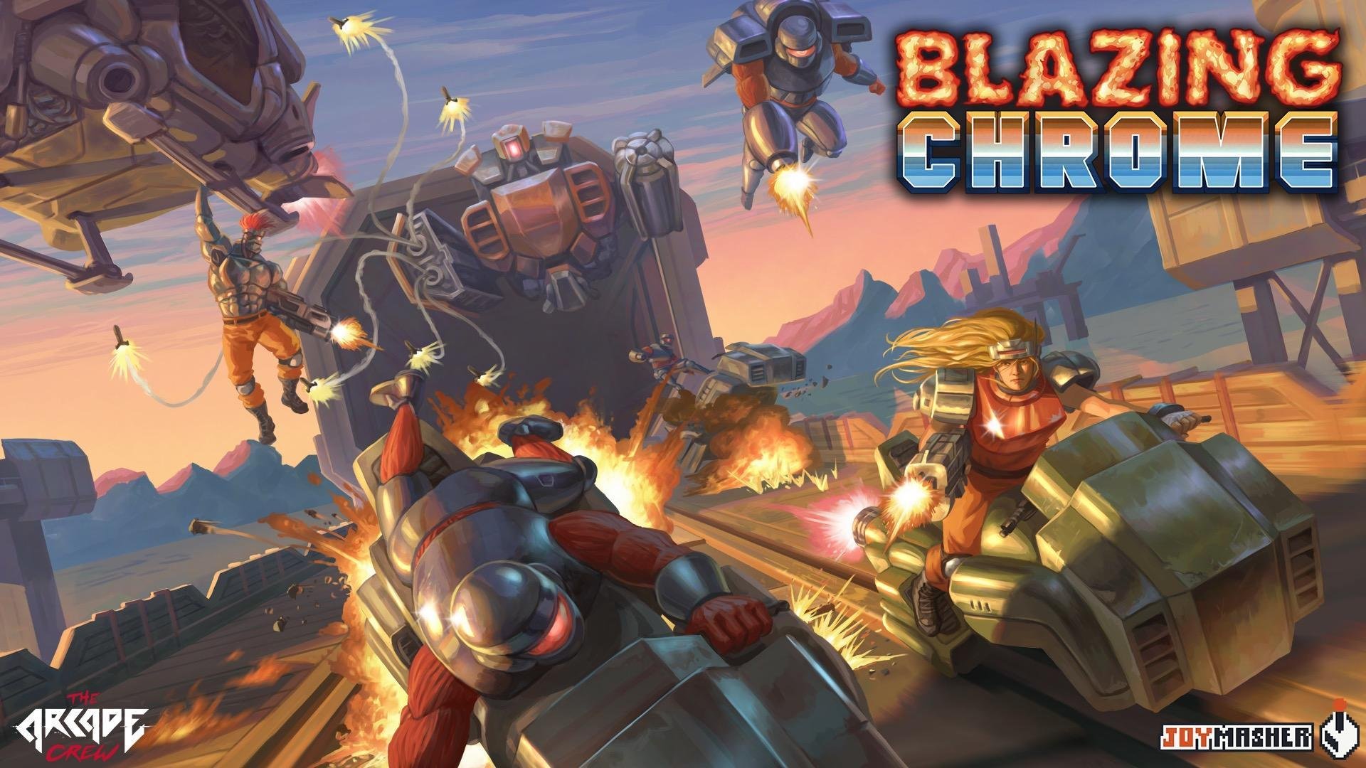 Contra-Inspired Shooter 'Blazing Chrome' Coming to Xbox One
