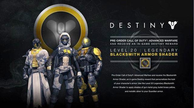 Pre order call of duty advanced warfare at gamestop for destiny