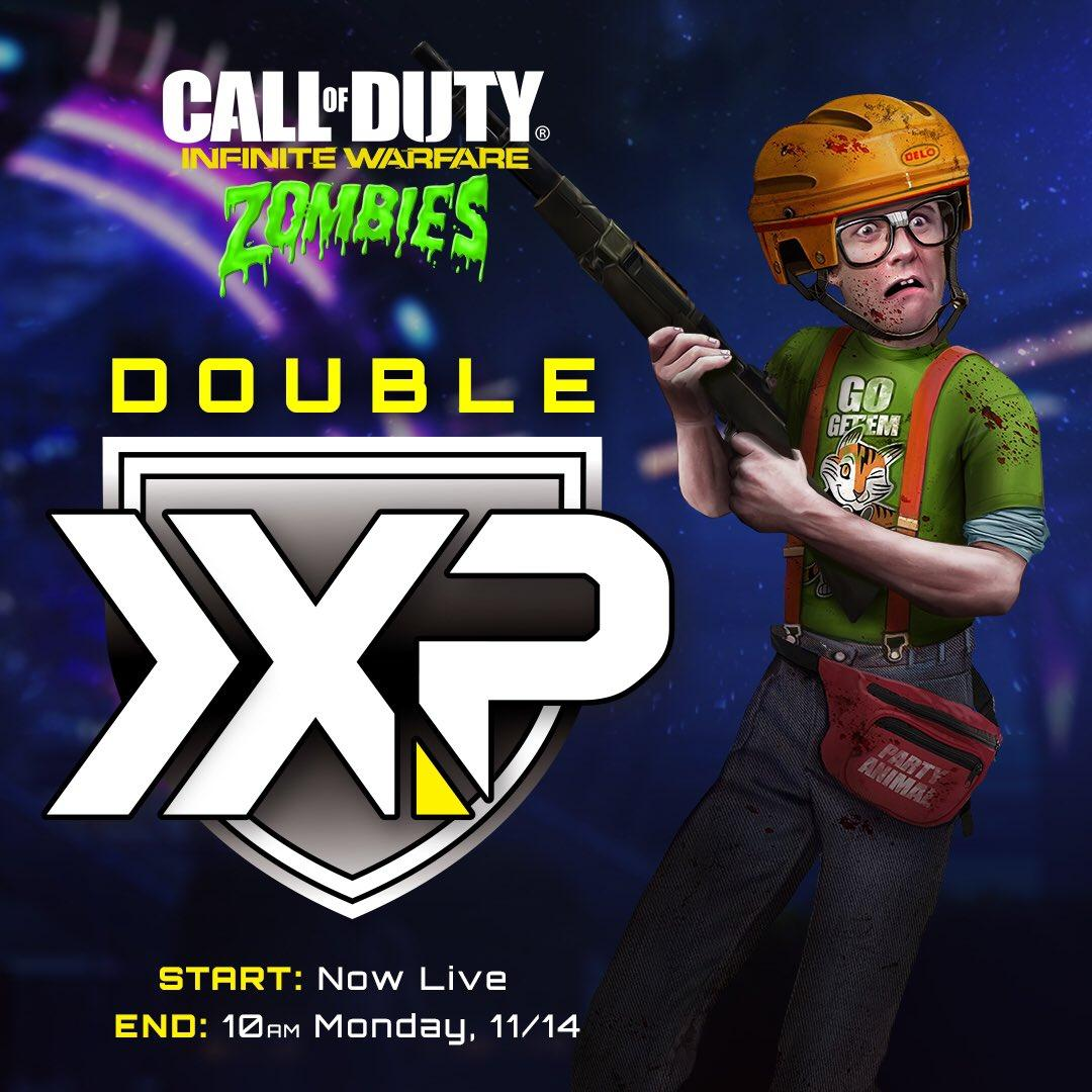 There's 2x XP in Call of Duty: Infinite Warfare's Zombies ...