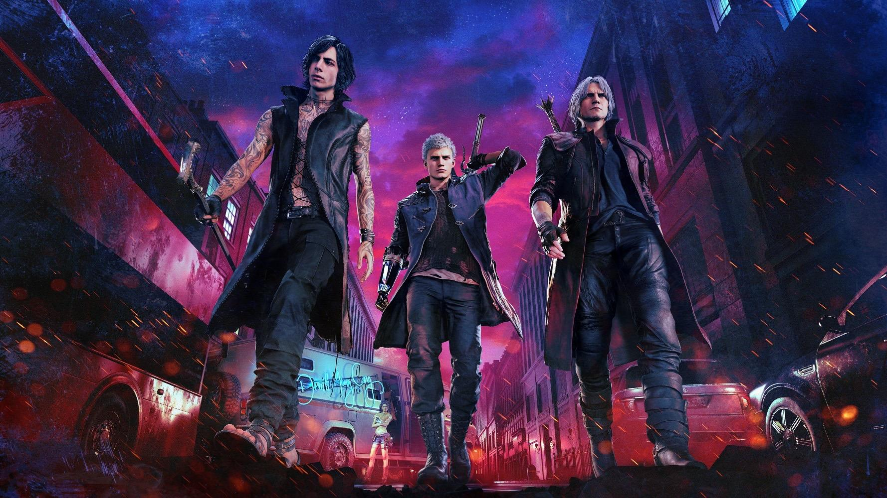 Devil May Cry 5 Trailer Shows Dante Gameplay