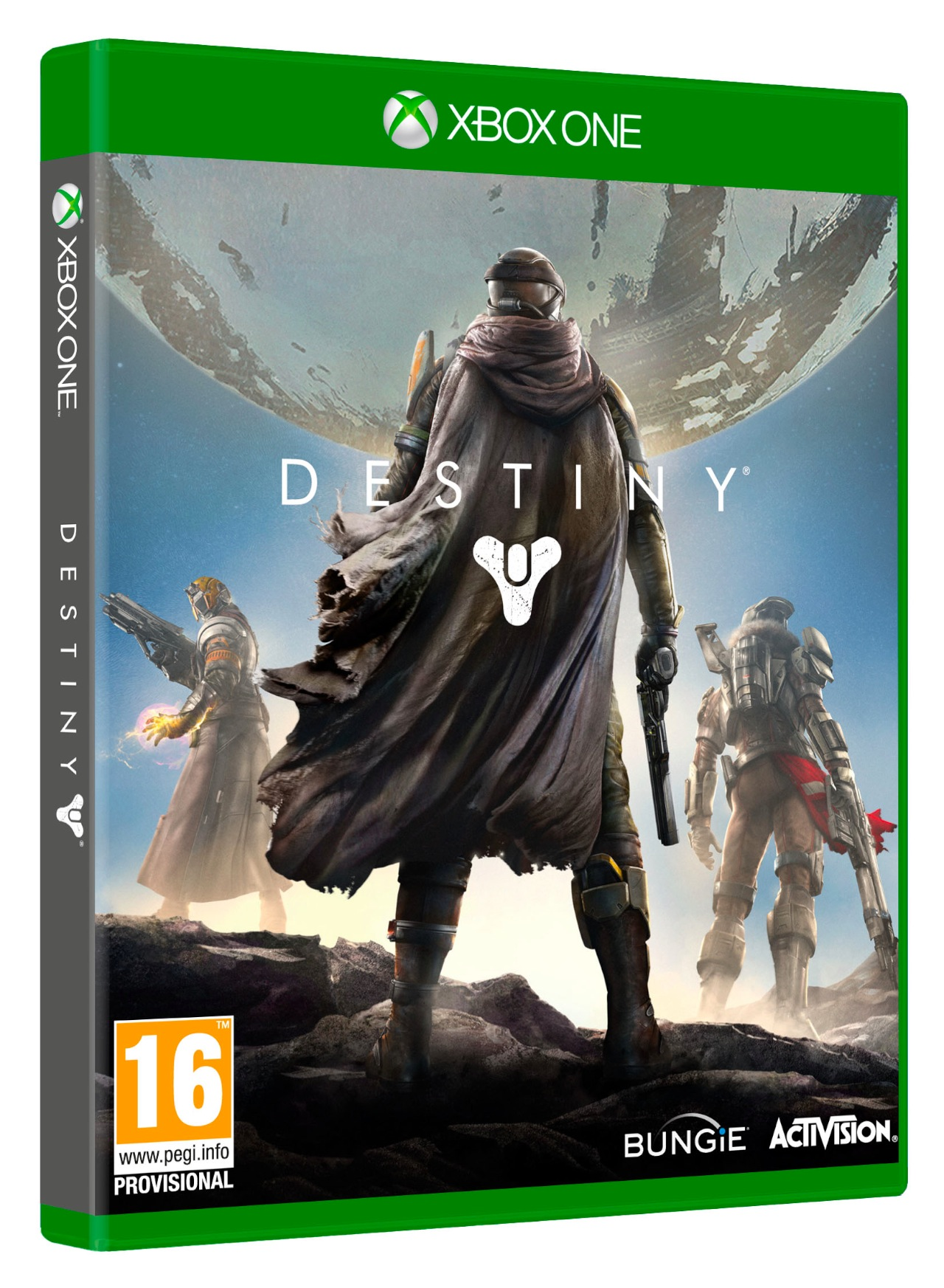 Here's Your Destiny Xbox One Box Art - Xbox One, Xbox 360 ...