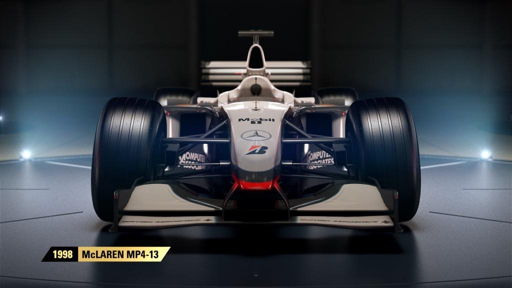 F1 2017 Will Have Four Classic McLaren Cars - Xbox One, Xbox 360 ...