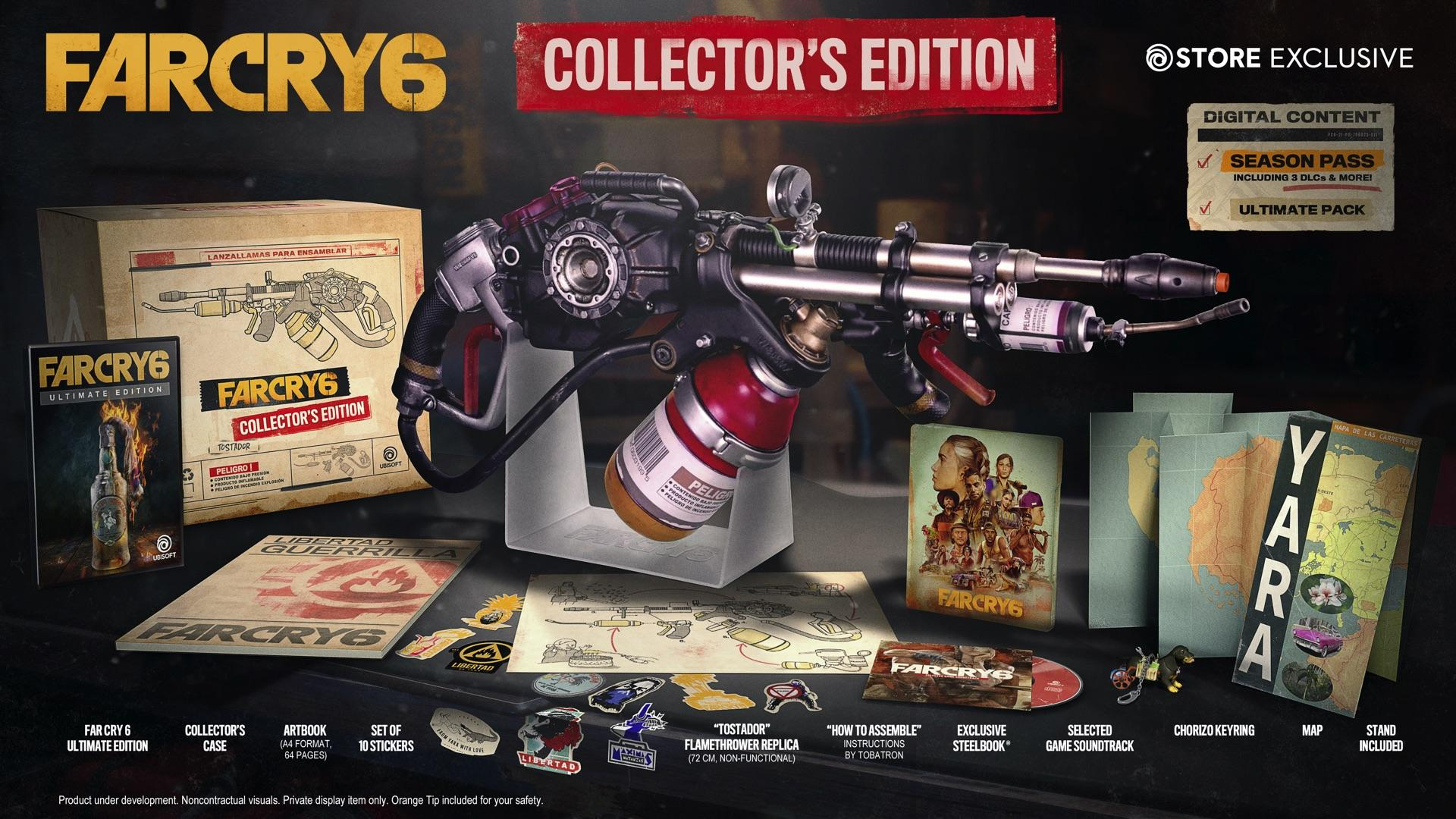 Far Cry 6 Collector S Edition Comes With A Flamethrower Xbox One Xbox 360 News At Xboxachievements Com
