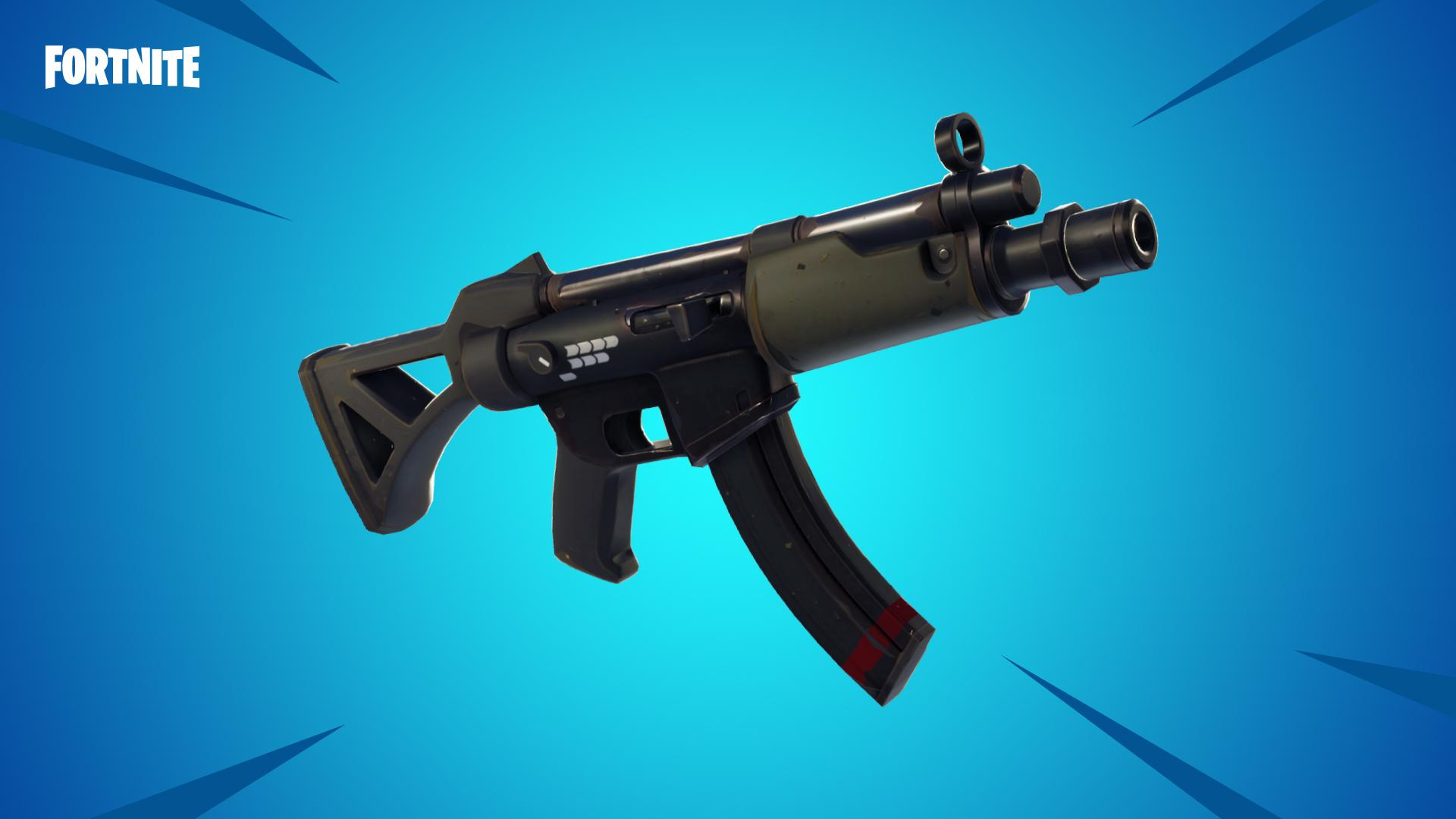 Fortnite V5.0 Content Update Adds a Couple of New Weapons