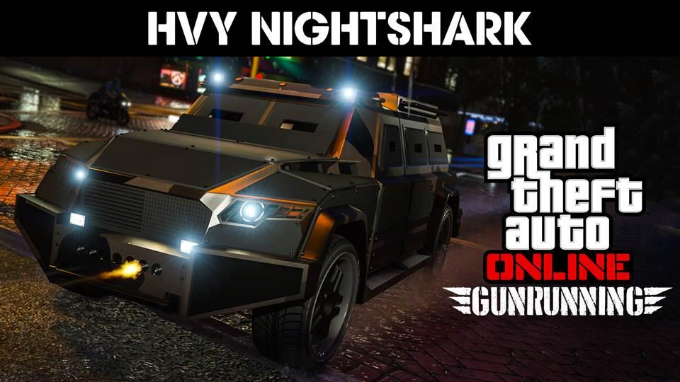 GTA Online Introduces the Overtime Shootout Adversary Mode, Weaponised HVY Nightshark SUV