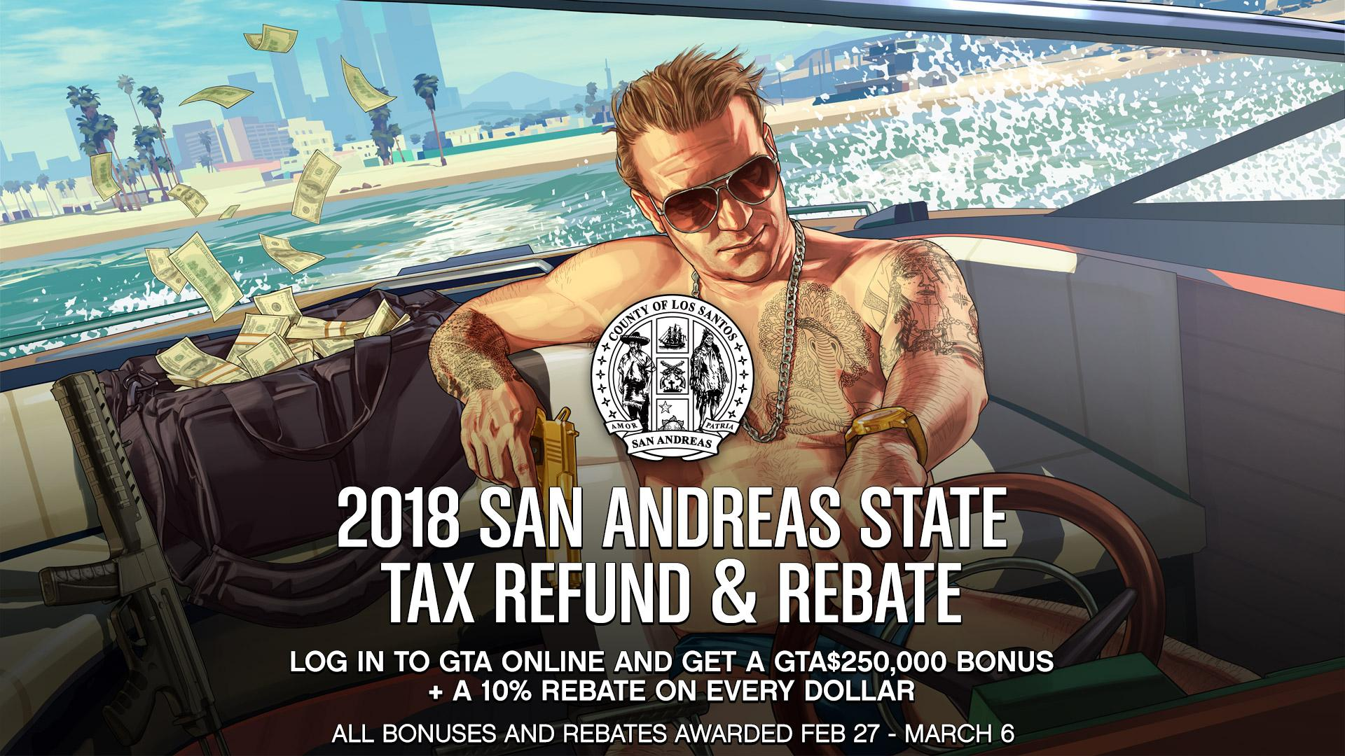 It's Tax Season, And Everyone Is Getting A Refund