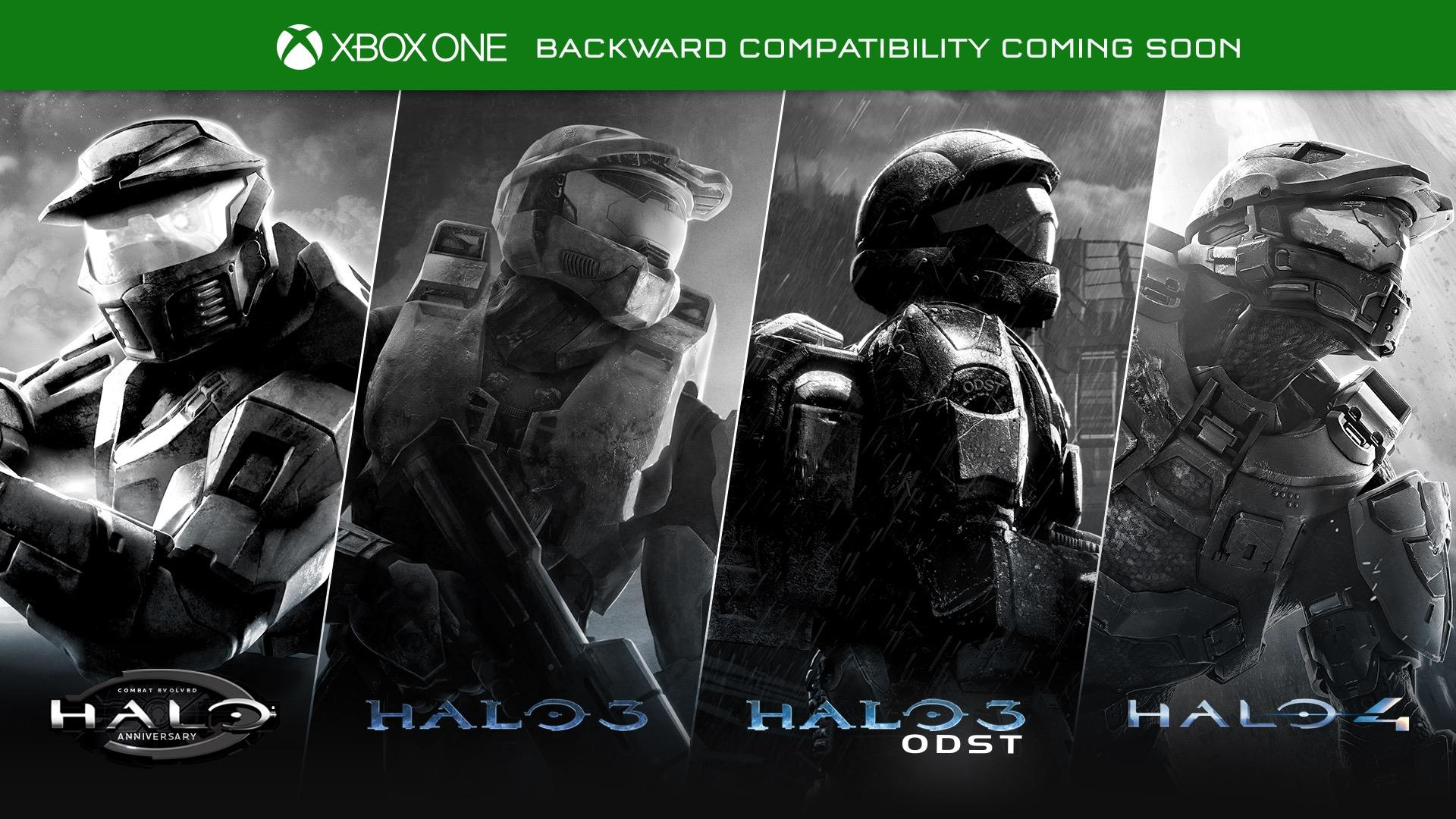 Halo: CE Anniversary, Halo 3, Halo 3: ODST and Halo 4 All Set To Go