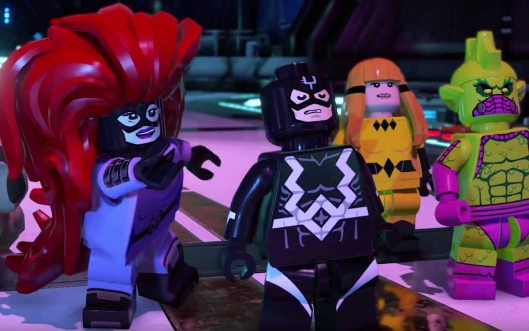 LEGO Adds Marvel's Inhumans to Super Heroes Sequel