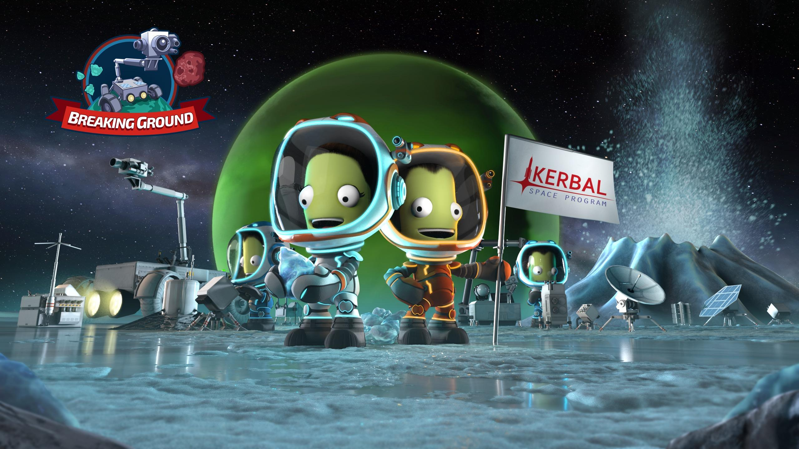 Kerbal Space Program 'Breaking Ground' Expansion Coming in December