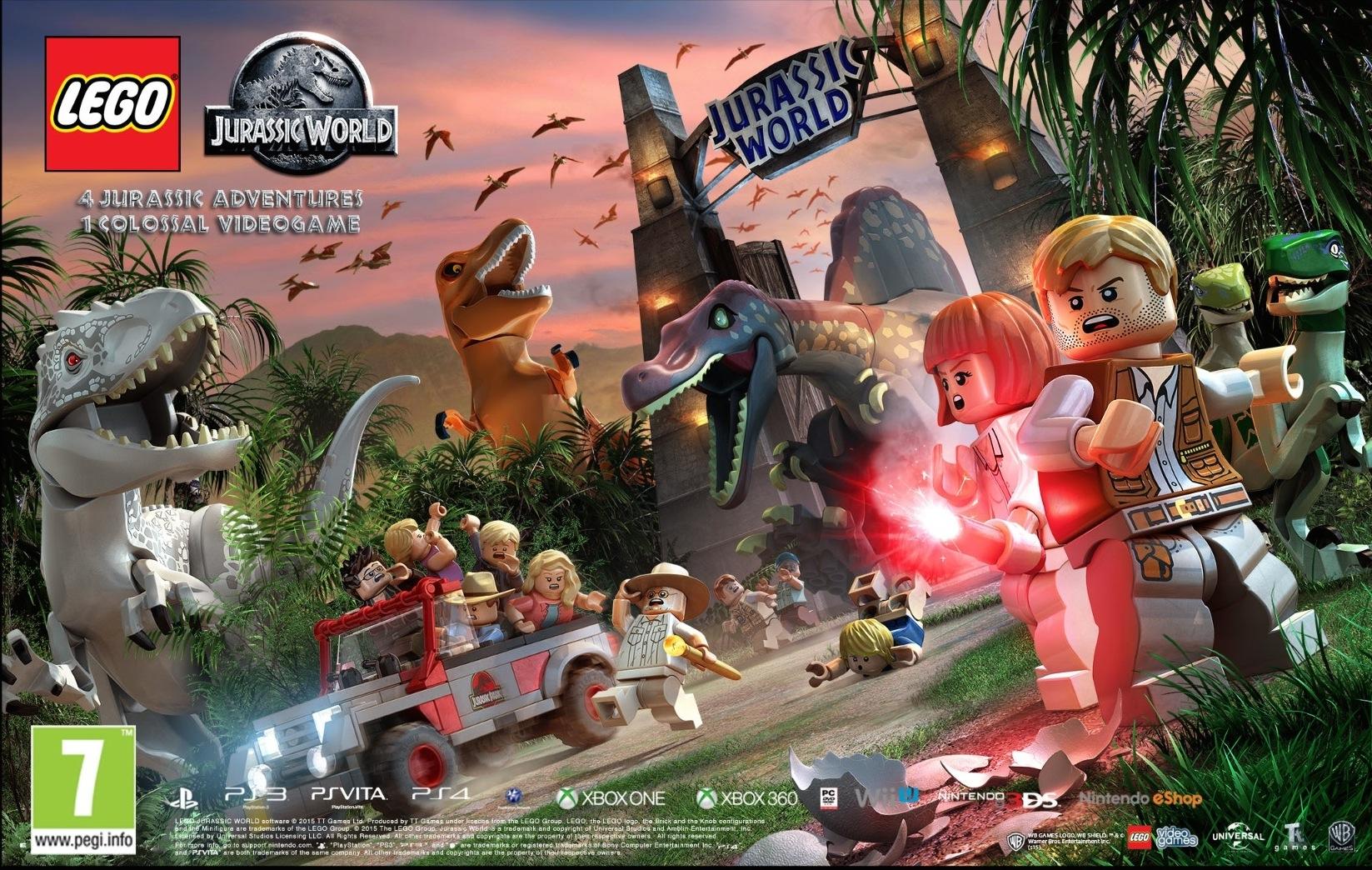 LEGO Jurassic World Video Game Review (Xbox 360/XboxOne ...
