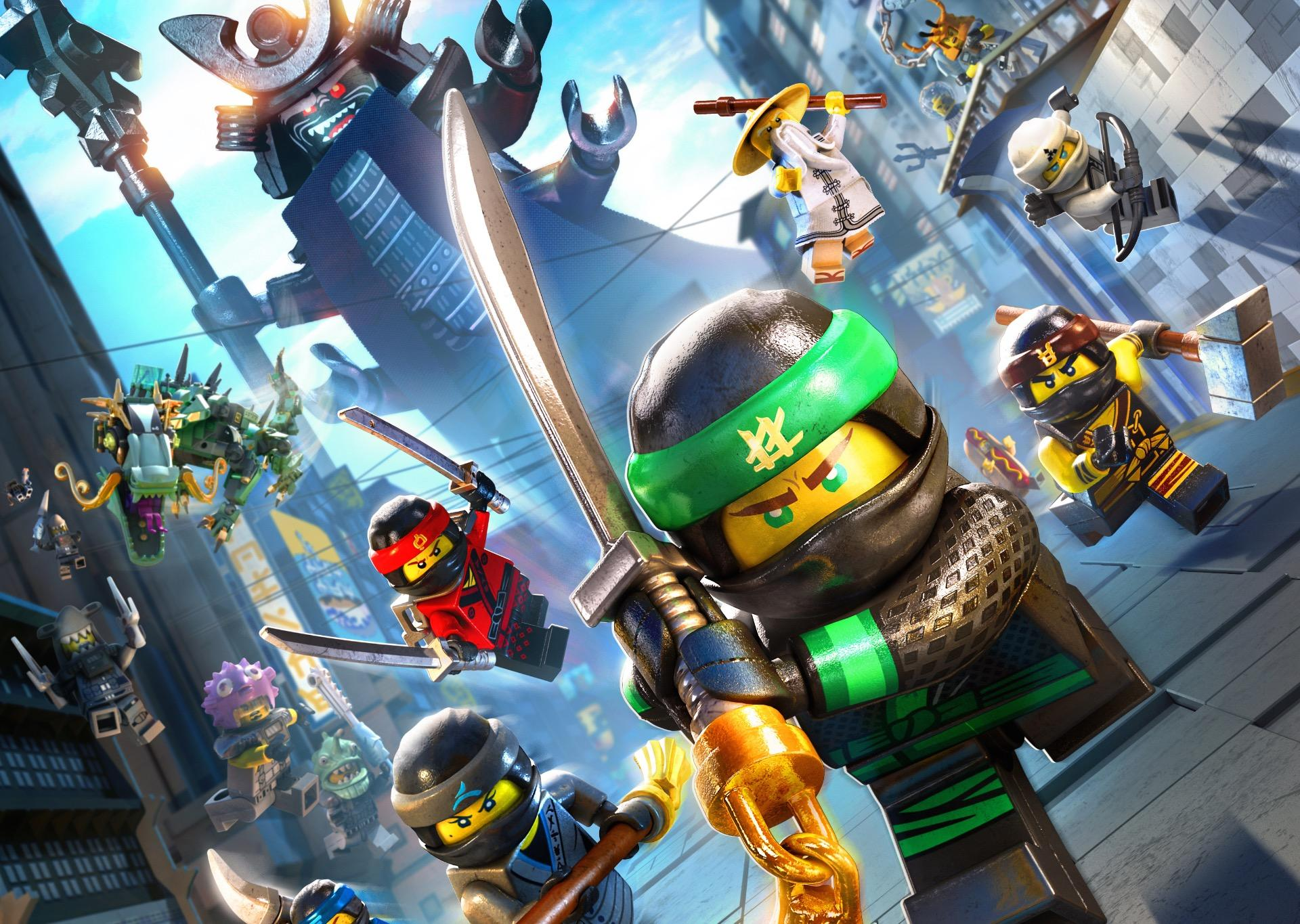 New Trailer Released For The Lego Ninjago Movie Video Game