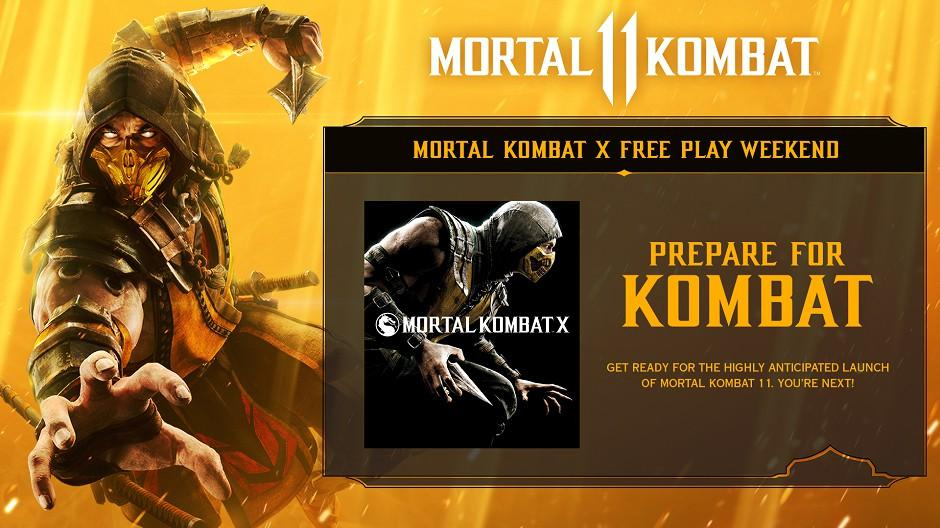 Mortal Kombat X Is This Week S Free Play Days Game Xbox One