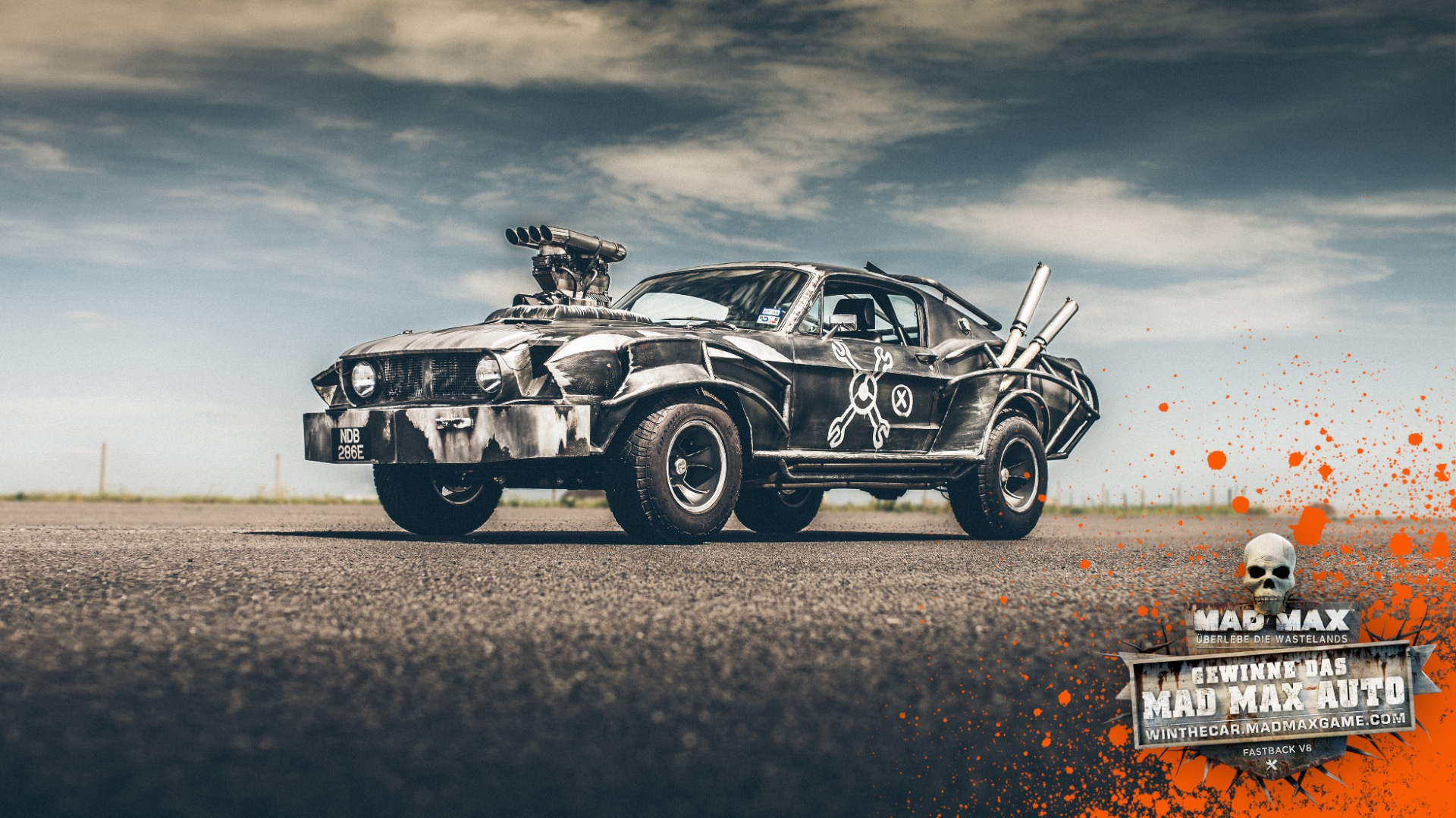 You Can Win Mad Max's Actual Magnum Opus Mustang - Xbox ...