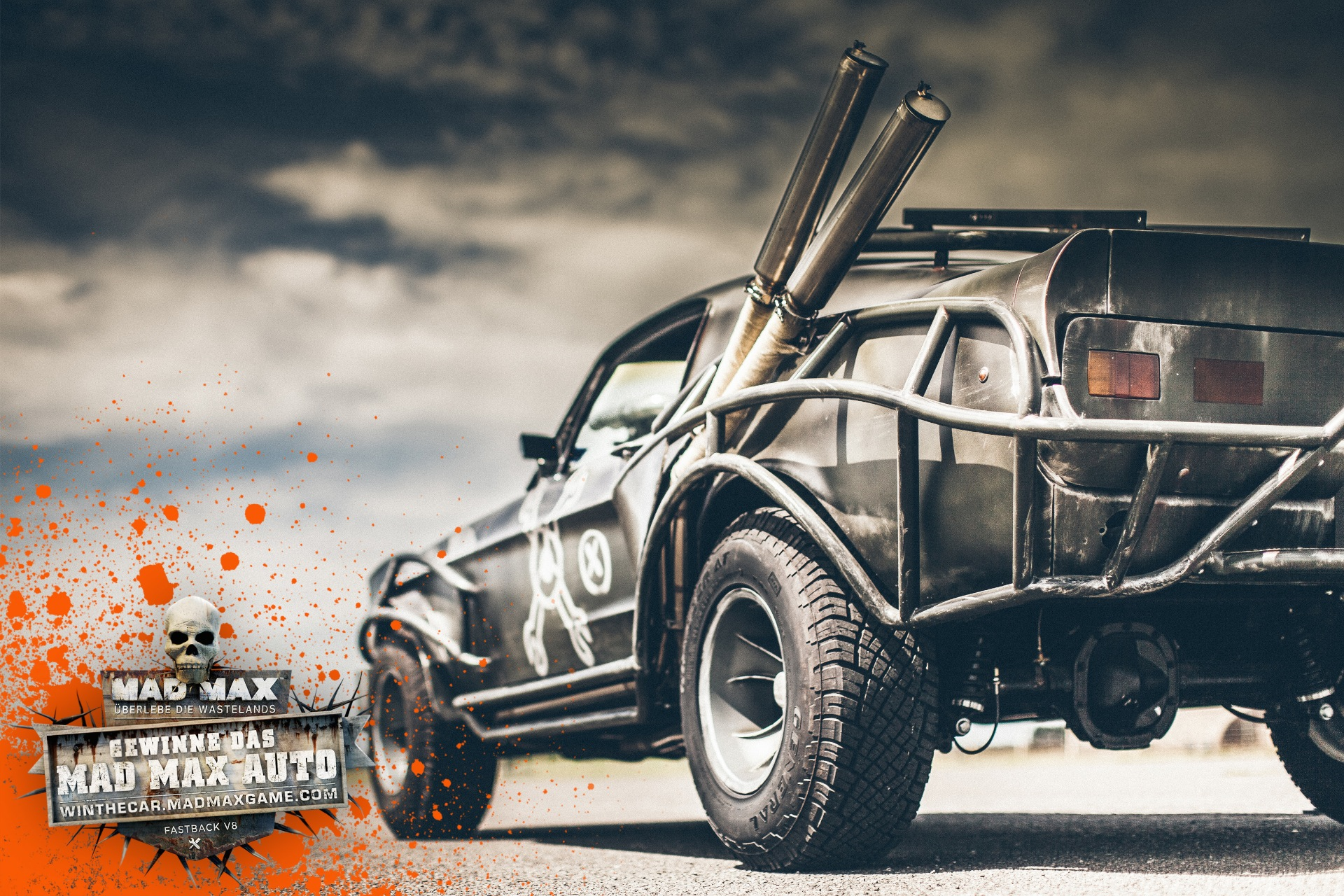 You can win mad maxs actual magnum opus mustang xbox one xbox