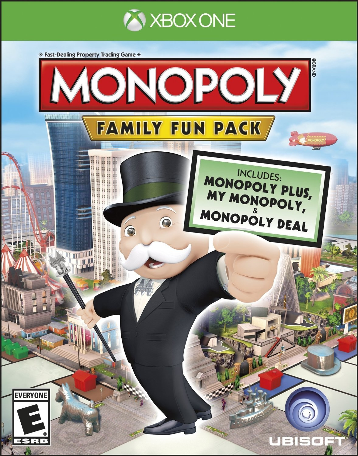 Monopoly Game For Xbox 1 : Monopoly family fun pack coming to us retail for xbox one