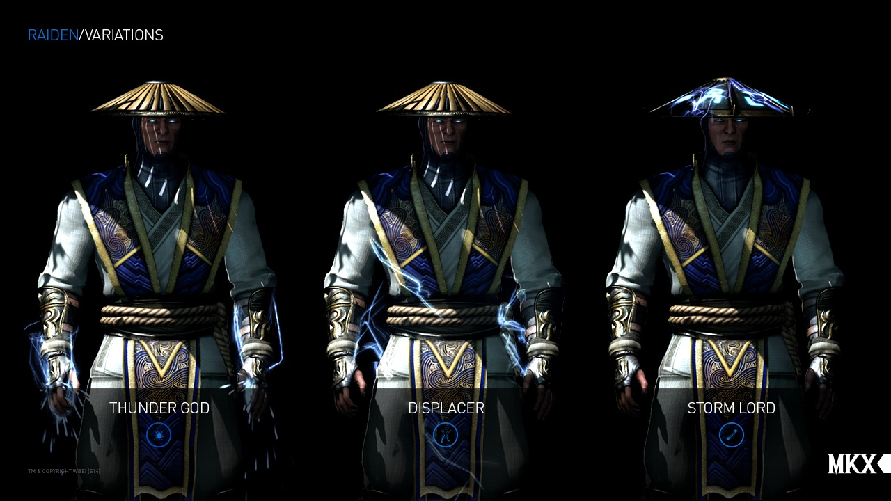 Mortal Kombat X Gameplay Video Showcases Raiden S Character