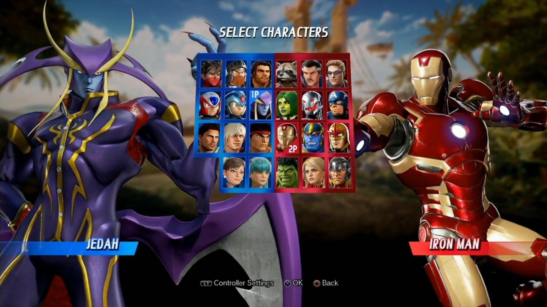 Darkstalkers' Jedah is coming to Marvel vs. Capcom Infinite