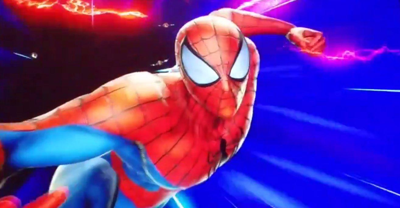 Spider-Man and Frank West Coming to Marvel vs. Capcom: Infinite