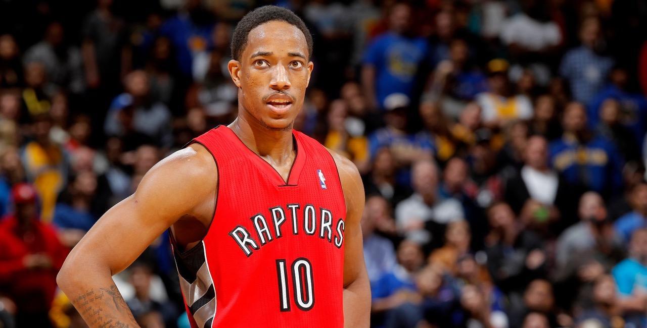 Toronto Raptors all-star DeMar DeRozan graces cover of National Basketball Association 2K18