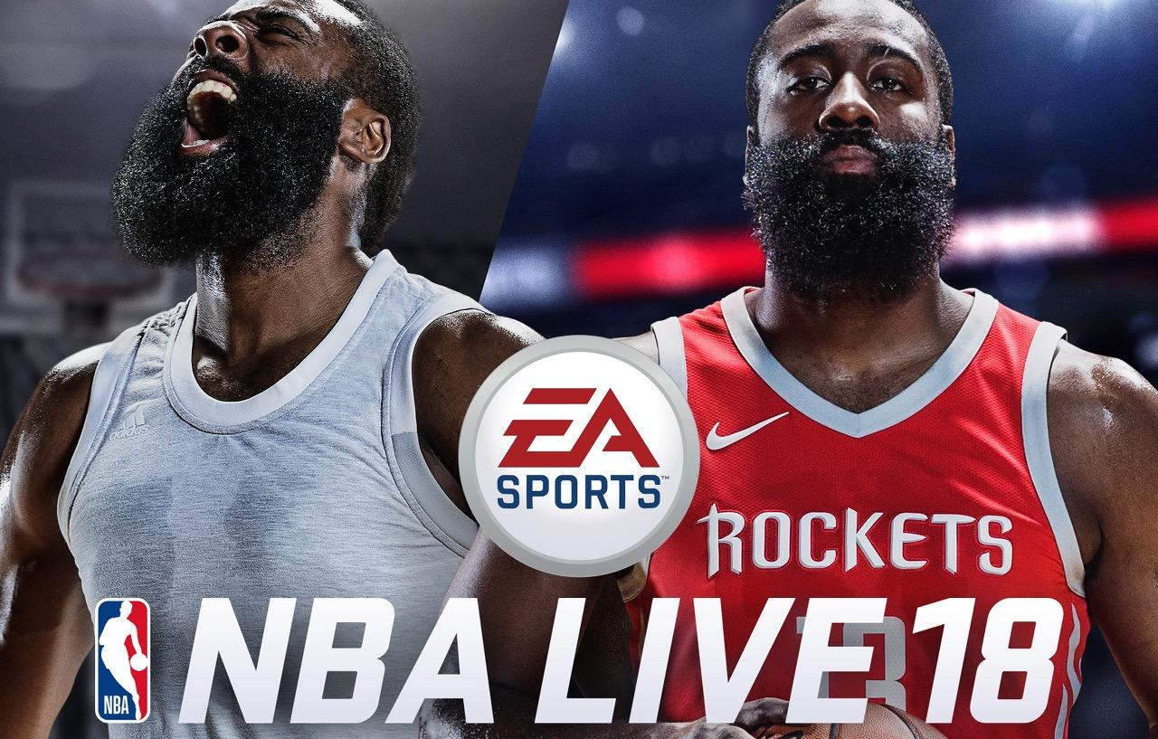 NBA Live 18 reveals launch date and cover star James Harden