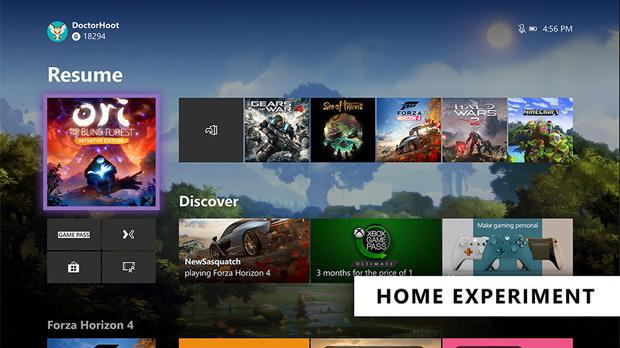Xbox One's Dashboard Gets a Redesign