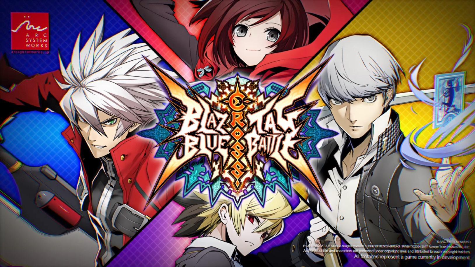 BlazBlue Cross Tag Battle stars Persona and Under Night In-Birth characters