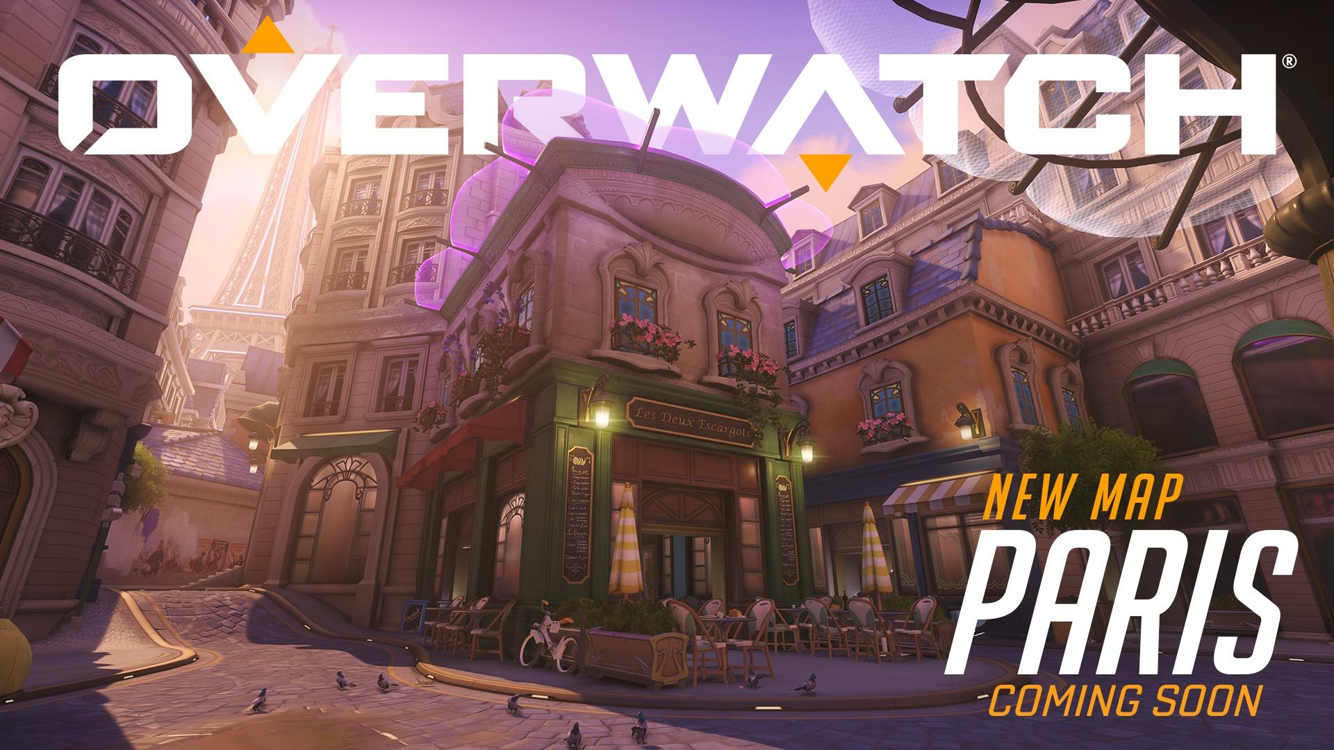 Overwatch says bienvenue to Paris with a new map
