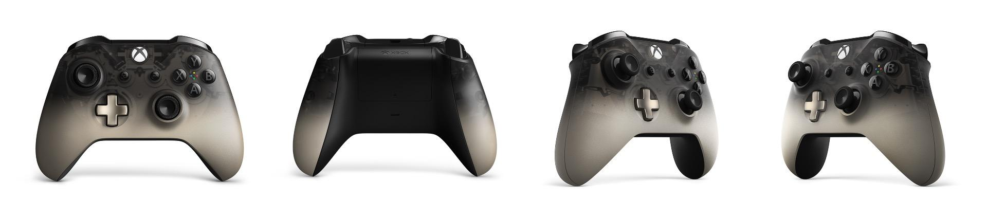 Phantom Black and Grey/Blue Xbox Controllers Coming in September ...
