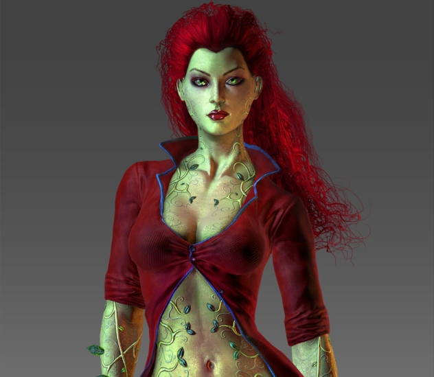 poison ivy batman arkham. [Via Arkham City Fan Site]