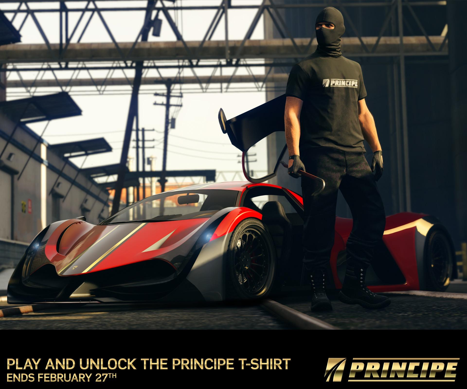 GTA Online Adds The New Principe Deveste Eight Supercar