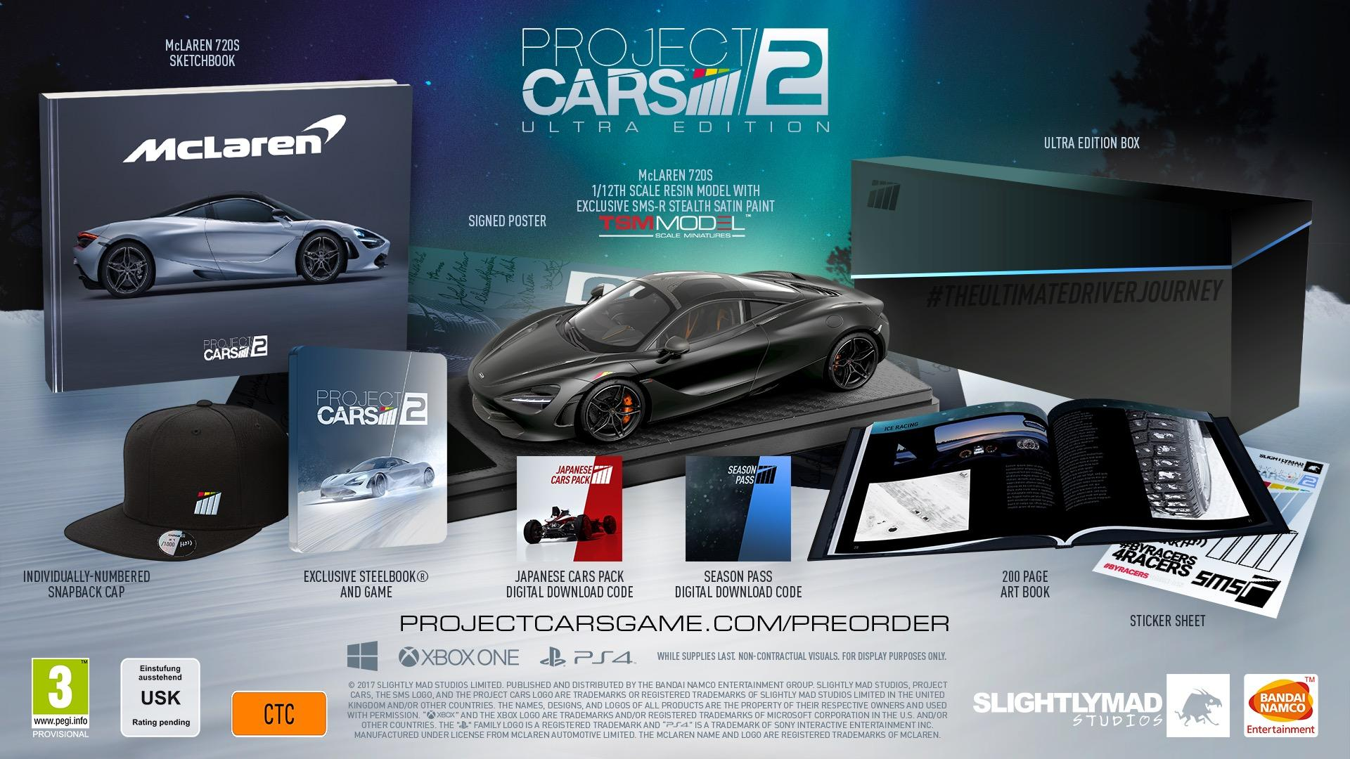project cars 2 special editions unveiled with mclaren 720s model xbox one xbox 360 news at. Black Bedroom Furniture Sets. Home Design Ideas