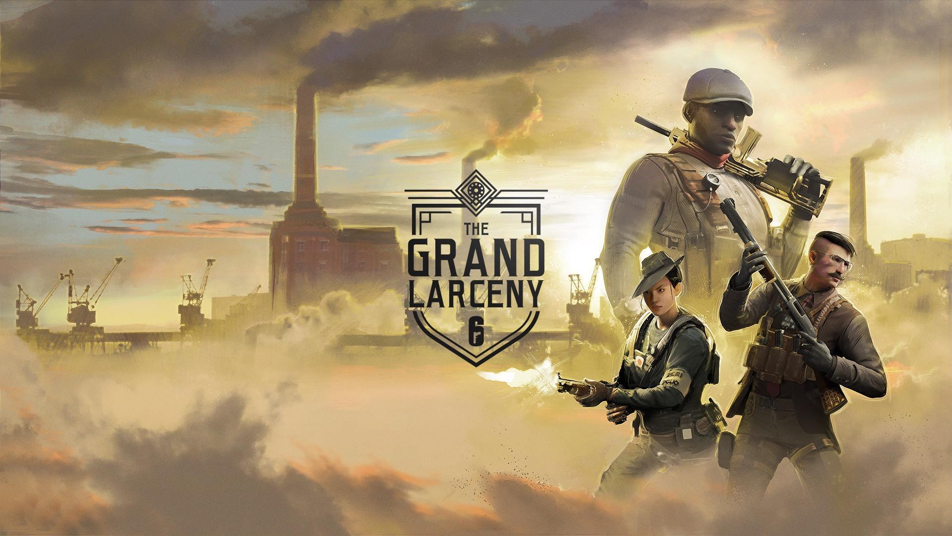 Rainbow Six Siege 'The Grand Larceny' gang event now live