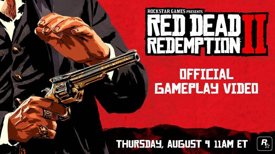 Red Dead Redemption 2 gameplay drops tomorrow
