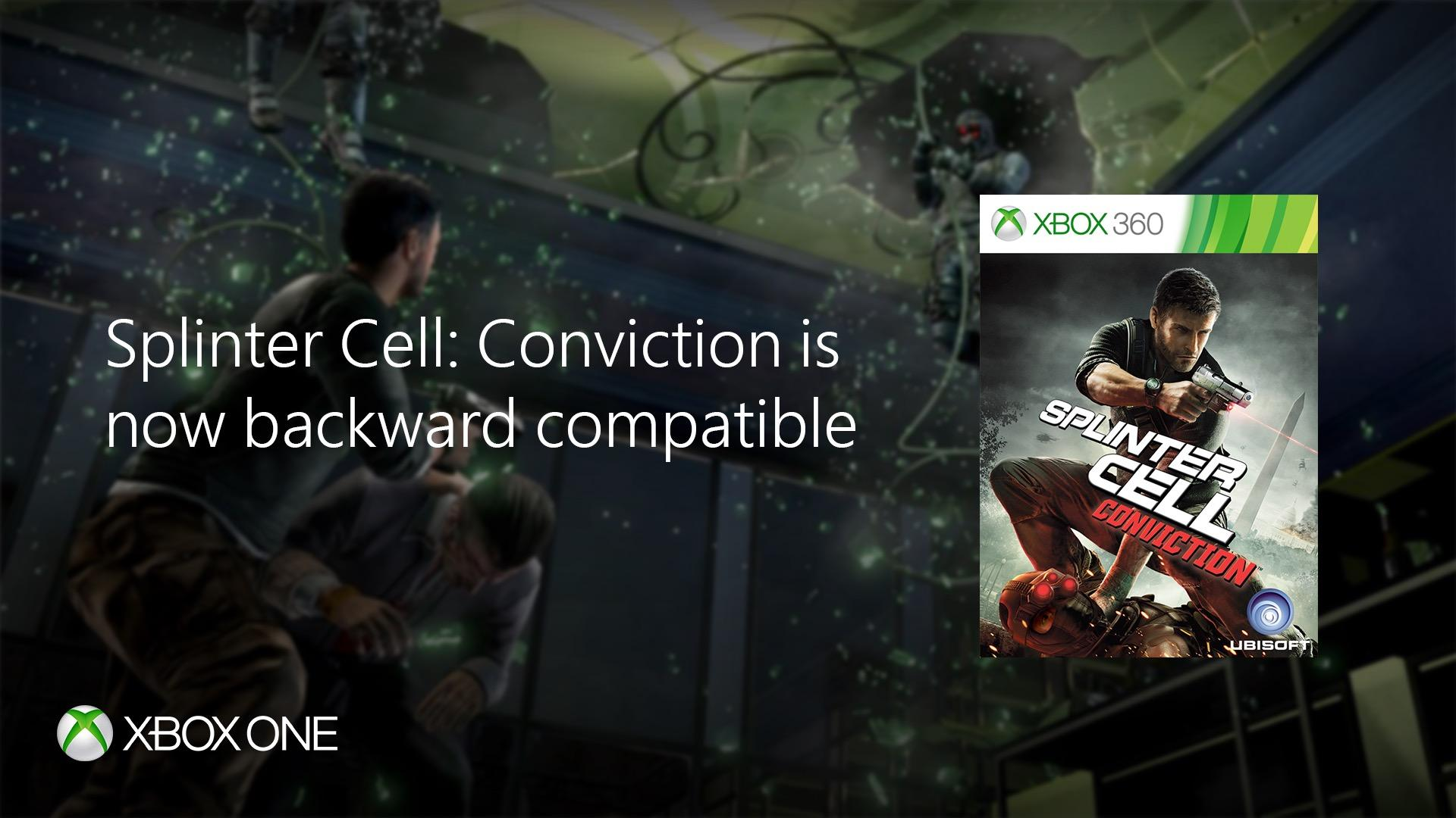 Conviction lands on Xbox One — Splinter Cell