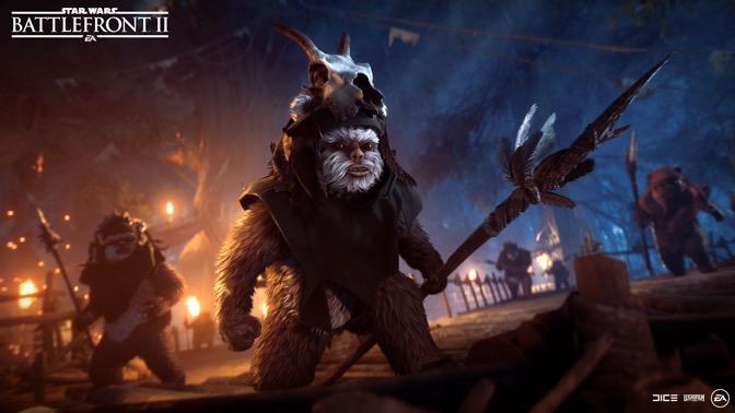New Star Wars Battlefront 2 mode will let you play as Ewoks